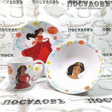 Loraine Елена 26999 набор детский, керамика, Китай, в подарочной упаковке 3 пр.