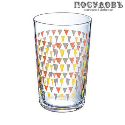 Luminarc Trigone Grey P0633 стакан высокий 300 мл 3 шт.