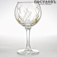 ГласСтар Крыло 3 К411, бокал винный 290 мл, материал стекло, Россия, в упаковке 6 шт.