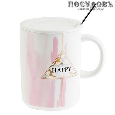 Коралл Sweet and happy 1380027 кружка подарочная 430 мл 3 пр.