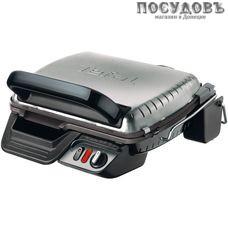 Tefal Health Grill Comfort GC306012 гриль электрический 300×220 мм, 2000 Вт, 1 вид сменных пластин, цвет металлик с черным
