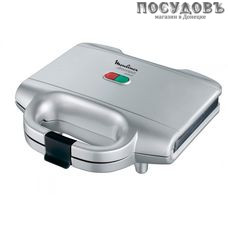 Moulinex Sm Utracompact SM154135 сэндвичница 230×130 мм, 700 Вт, цвет серебро