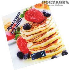 Василиса ВА-002 Идеальная хозяйка весы кухонные-платформа, 200×180×15 мм, до 5 кг, гарантия 1 год