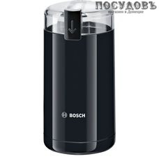 Bosch MKM6003 кофемолка электрическая черная, 180 Вт, 75 г, Словения, гарантия 1 год
