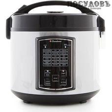 Binatone MCR-5033 мультиварка 700 Вт, 18 программ, чаша керамическое покрытие 5 л, цвет белый с черным