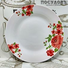 Батлер Вьющаяся роза AL-16 тарелка десертная, керамика, Ø190 мм, Китай, без упаковки 1 шт.
