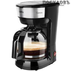 Centek CT-1147 кофеварка капельная, 900 Вт, 1800 мл, цвет черный
