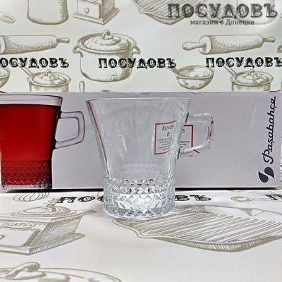 Pasabahce Kuvars 55703 кружки в наборе стекло 250 мл, 6 шт.