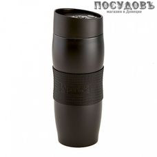 Alpenkok AK-04053A термокружка, колба сталь нержавеющая 400 мл, цвет черный