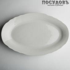 Дулёвский фарфор Белое 38382 блюдо, фарфор, Ø350 мм, Россия, без упаковки 1 шт.