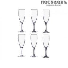 Luminarc Diners French Brasserie H9452, фужер для шампанского 170 мл, стекло, в упаковке 6 шт.