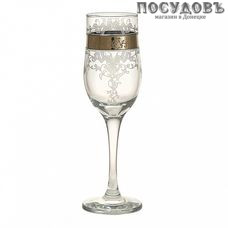 ГласСтар Медальон 3 GN160, фужер для шампанского 200 мл, стекло, в упаковке 6 шт.