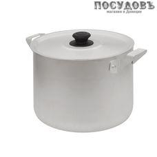 Калитва 14025 кастрюля объемом 2,5 л, алюминий штампованный, цвет матовый, с крышкой, Россия