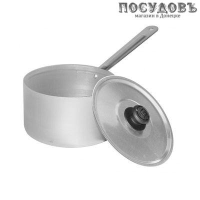 Калитва 14018 ковш алюминий штампованный 1,8 л, 160 мм, с крышкой