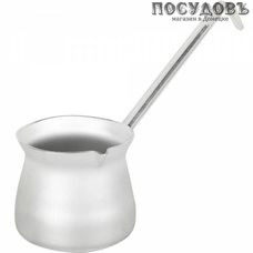Калитва 19500 турка объемом 500 мл, алюминий штампованный, клепанная алюминиевая ручка, Россия, без упаковки 1 шт