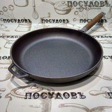 Биол 0128 сковорода без крышки Ø280×45 мм, чугун литой, без покрытия покрытие, Украина, в упаковке 1 шт