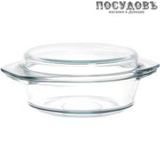 Simax Classic s6106-6116 кастрюля 1,5 л с крышкой 0,6 л, стекло жаропрочное, Ø205×93 мм, Чехия, 2 пр.