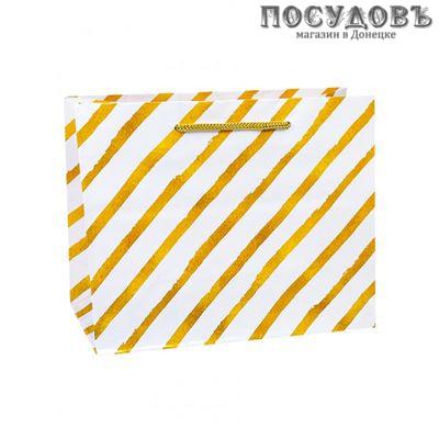 Dream cards Стильные полосы ПКП-1858 пакет подарочный XXL-420×520×160 мм, бумага, глянцевая ламинация