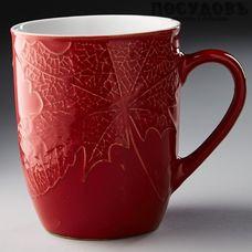 Rosario Радуга Ф13-034L кружка, красная, 380 мл, керамика 1 шт.