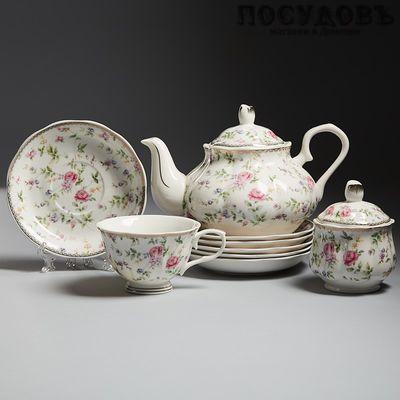 Beatrix Изабелла МХ006Р/14 сервиз чайный 14 пр.