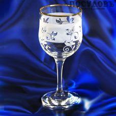 ПТТ Жасмин 44163/601, бокал винный 240 мл, материал стекло, Россия, в упаковке 6 шт.