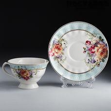 Beatrix Бургундия Ф2-026Р/6К набор чайный, фарфор, в подарочной упаковке 12 пр.