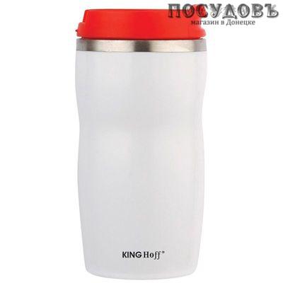 KING Hoff KH-1181 вакуумная термокружка 280 мл, колба сталь нержавеющая, красный