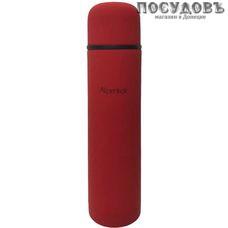 Alpenkok AK-07502M термос, колба сталь нержавеющая 750 мл, покрытие soft touch, цвет красный, Китай
