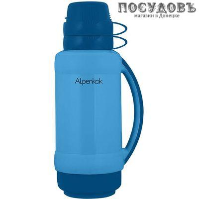 Alpenkok AK-18024S термос 1800 мл, колба стеклянная, синий