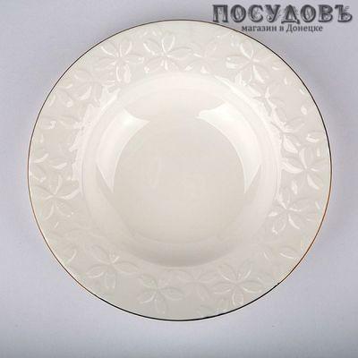 Beatrix Сакура МБ001Т2/6 тарелки глубокие в наборе, фарфор, Китай, в упаковке 6 шт.