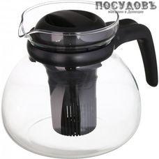"""Simax """"Svatava"""" 3792/S, чайник заварочный с фильтром 1 500 мл, стекло закаленное, Чехия, в упаковке 1 шт"""