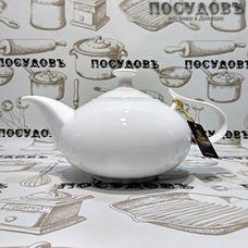 Wilmax WL994000 белый, чайник заварочный, 1 150 мл, фарфор, Китай, в упаковке 1 шт