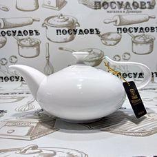 Wilmax WL994001 белый, чайник заварочный, 450 мл, фарфор, Китай, в упаковке 1 шт