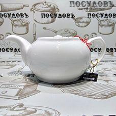 Wilmax WL994011 белый, чайник заварочный, 500 мл, фарфор, Китай, в упаковке 1 шт