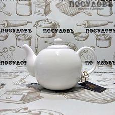 Wilmax WL994018, чайник заварочный, фарфор белый, 500 мл, Китай, в упаковке 1 шт