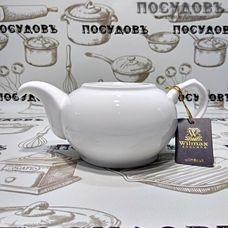 Wilmax WL994036 белый, чайник заварочный, 500 мл, фарфор, Китай, в упаковке 1 шт