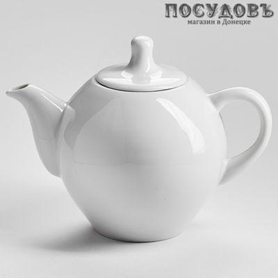 Добрушский фарфор 3С0886Ф34 чайник заварочный, фарфор, 350 мл белый