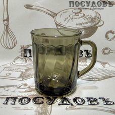 """Кружка СВ Гласс Индастри """"Elica"""" 250 мл, закаленное стекло 1 шт"""