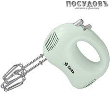 """Delta """"DL-5069"""" миксер ручной, цвет зеленый/серый, 170 Вт, Россия, гарантия 1 год"""