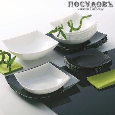 Luminarc Quadrato Black n White C5239 сервиз столовый ударопрочное стекло л, мм,
