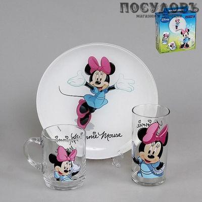 Luminarc Disney Colors Minnie h5321 детский набор 3 предметов
