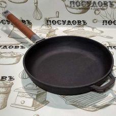 Чугунная сковорода Биол 0122 22 см съемная ручка