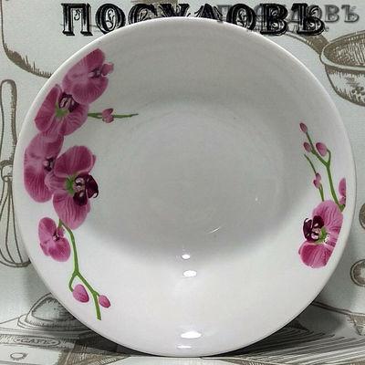 Батлер Орхидеи AL-04 миска керамика 550 мл, 1 шт.