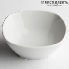 "Салатник Дулёвский фарфор ""Квадратный Белый"" 61002 150 мл 1 шт"