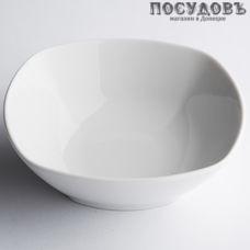 "Салатник Дулёвский фарфор ""Квадратный Белый"" 61012 300 мл 1 шт"