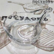 "Салатник Kaven ""Pear"" цвет прозрачный, 220 мл, 147×90 мм, стекло, 1 шт"