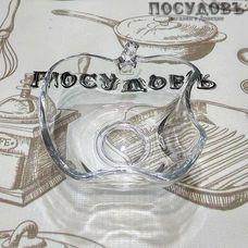 "Салатник Noritazeh ""Apple"" цвет прозрачный, 175 мл, 105×105 мм, стекло, 1 шт"