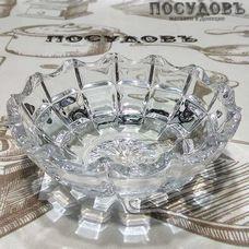 "Салатник Kaven ""Romance"" цвет прозрачный, 145 мл, Ø115 мм, стекло, 1 шт"
