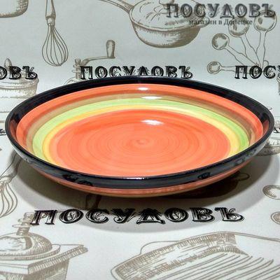КНР Радуга 489-1 тарелка глубокая фарфор 650 мл, 1 шт.
