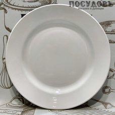 """Десертная тарелка Кубаньфарфор """"Белая гр.Б"""" цвет белый, Ø200 мм, фаянс 1 шт"""